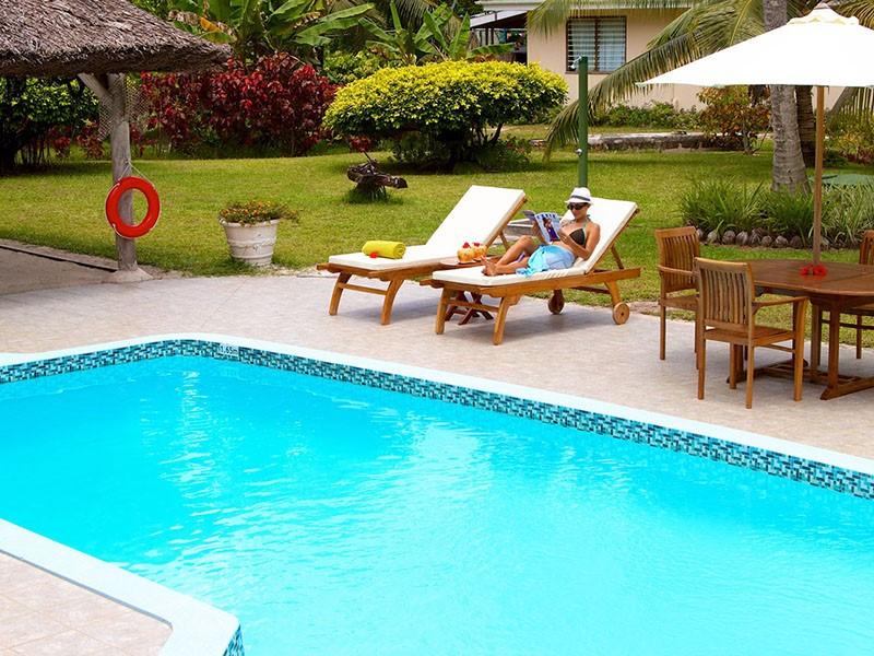 La piscine, pour des instants relaxants