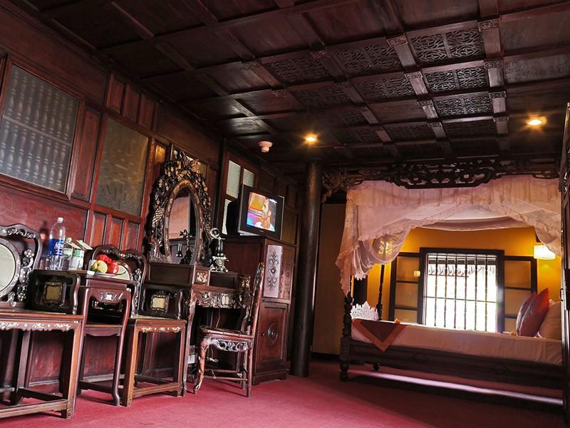 Architecture traditionnelle et confort moderne du Vinh Hung 1 Heritage Hotel