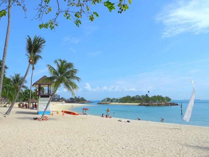 Sentosa, une petite île singapourienne dédiée aux loisirs et à l'amusement