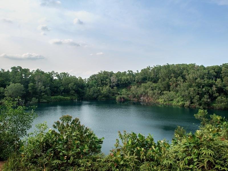 Pulau Ubin, une petite île au nord-est de Singapour
