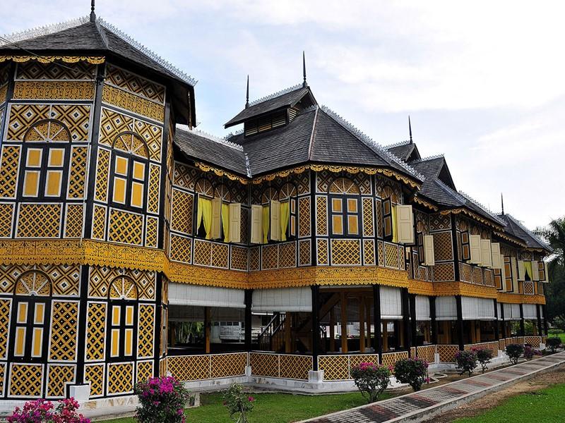 Vue du fameux Musée Royal de Perak à Singapour