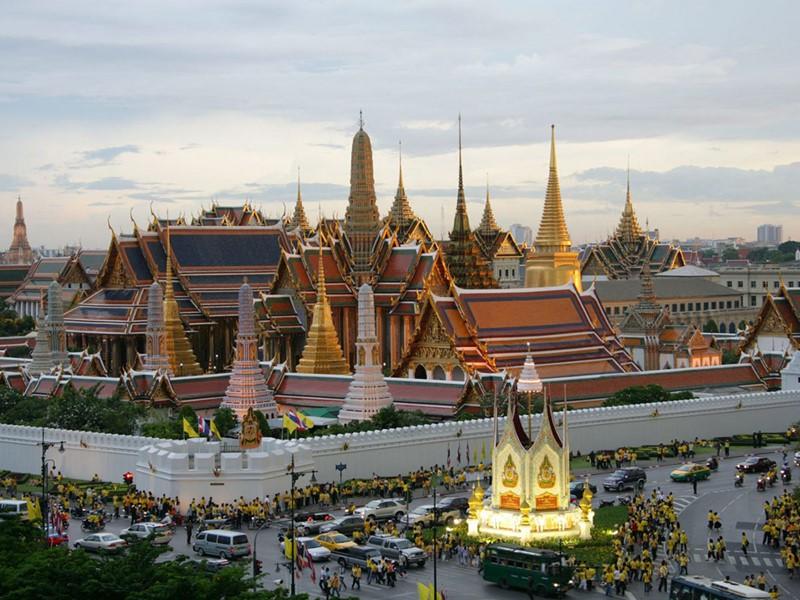 Visite du fameux Palais Royal de Bangkok