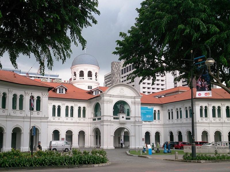 Visite de l'incroyable musée d'art de Singapour