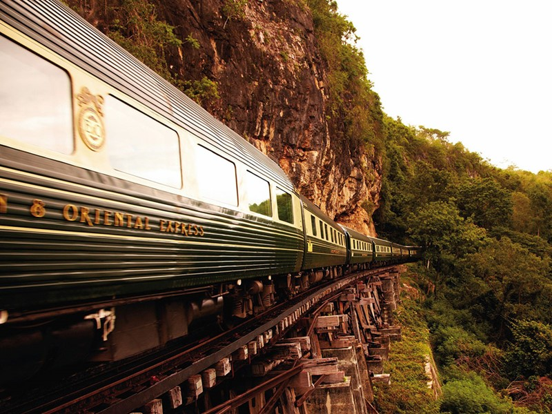 Profitez de vues surprenantes depuis l'Eastern & Oriental Express