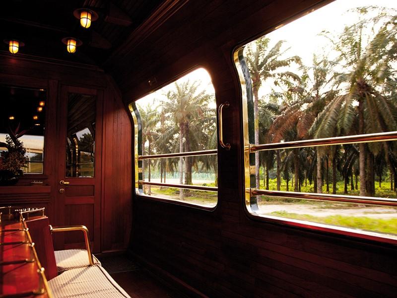 Un train aussi luxueux que singulier