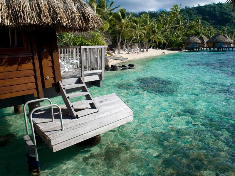 Le Mahana Huahine, un établissement chaleureux et relaxant