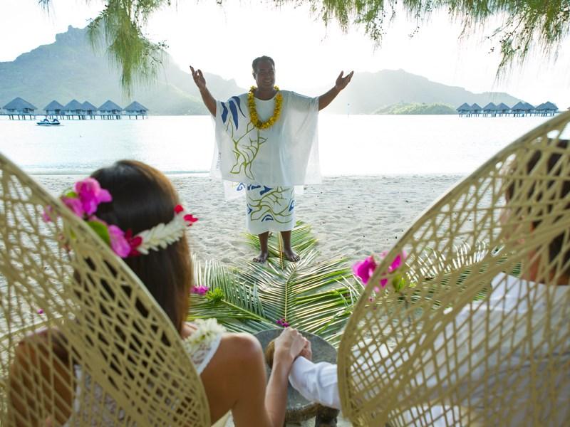 Bora Bora, le paradis des amoureux