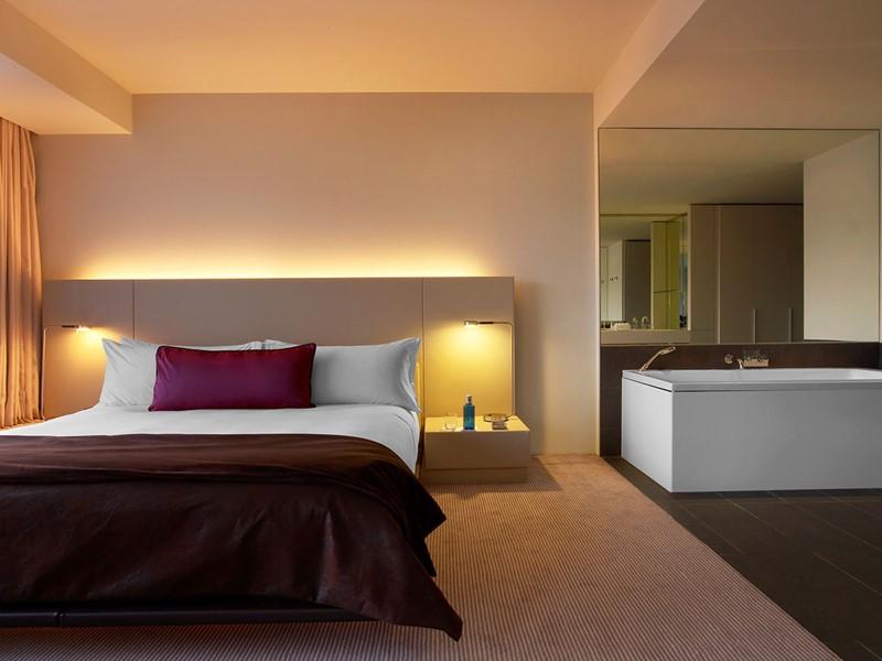 La Studio Suite du W Barcelone Hotel en Espagne
