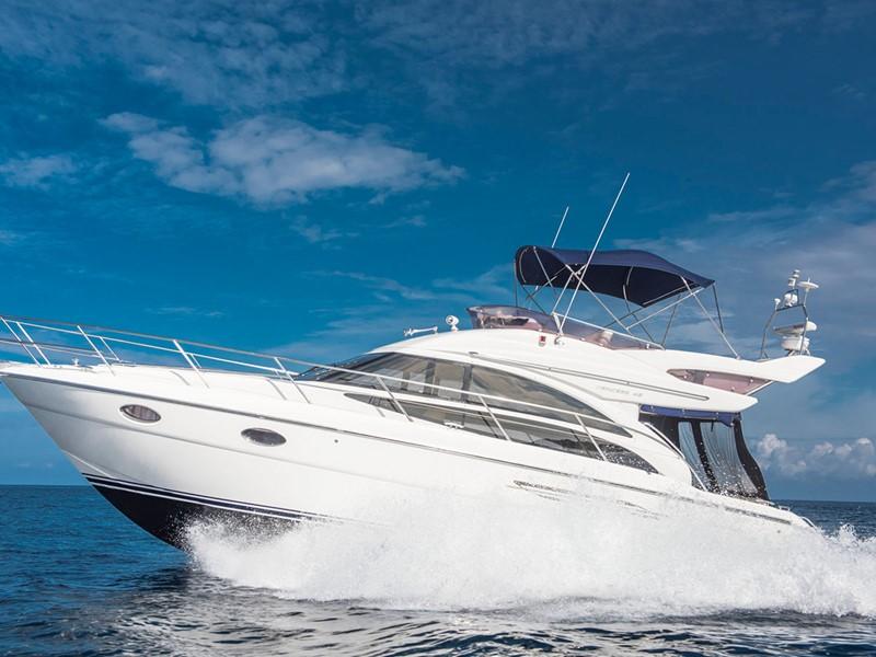 Croisière en yacht