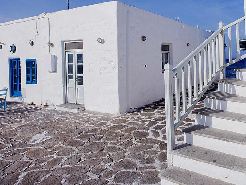 Une adresse au charme typique des Cyclades