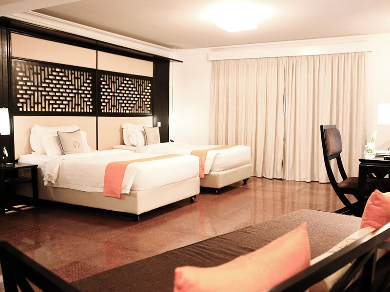 Deluxe Room du White Mansion Hotel au Cambodge
