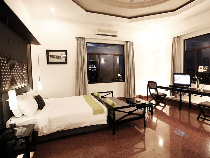 Junior Suite du White Mansion Hotel au Cambodge