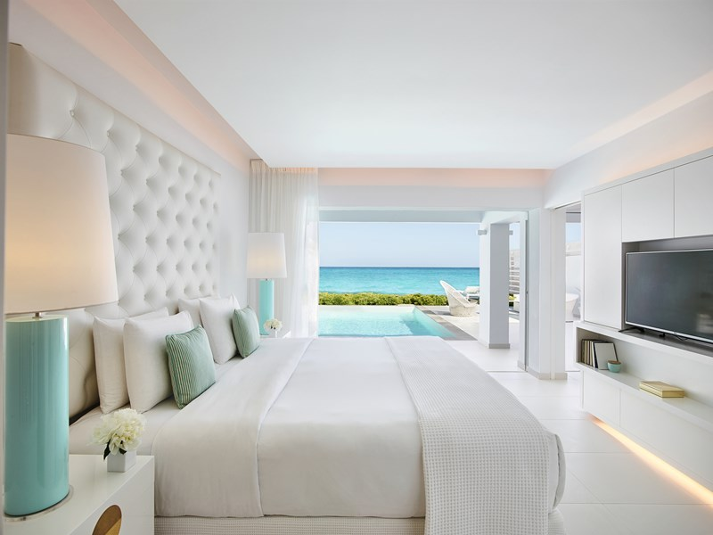 Villa Luxe Yali, Seafront Prive Pool Direct Beach Access