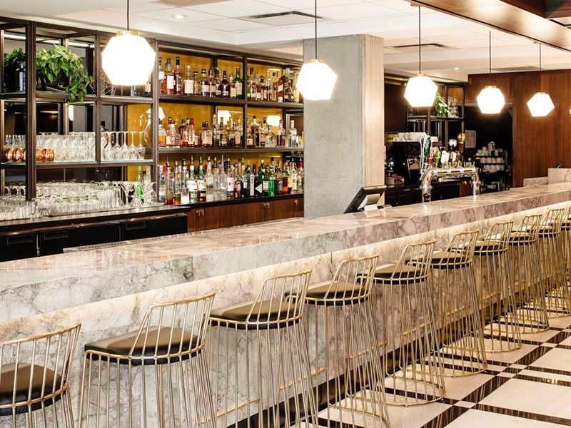 Le bar Maggie Oakes