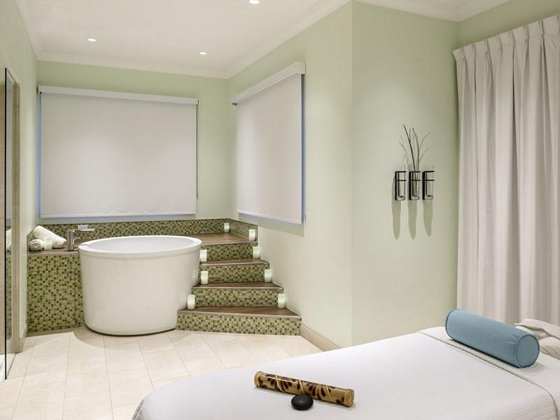 Le spa de l'hôtel 4 étoiles Windjammer Landing