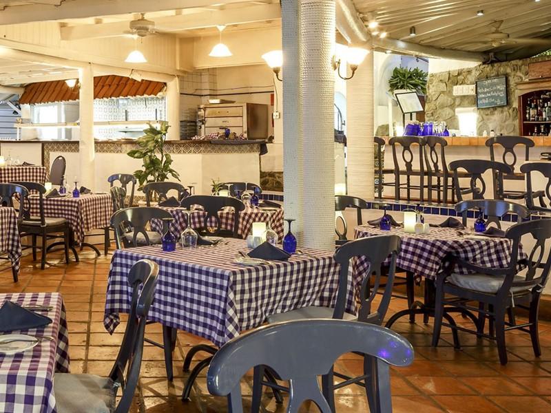 Le restaurant italien Papa Don's du Windjammer Landing
