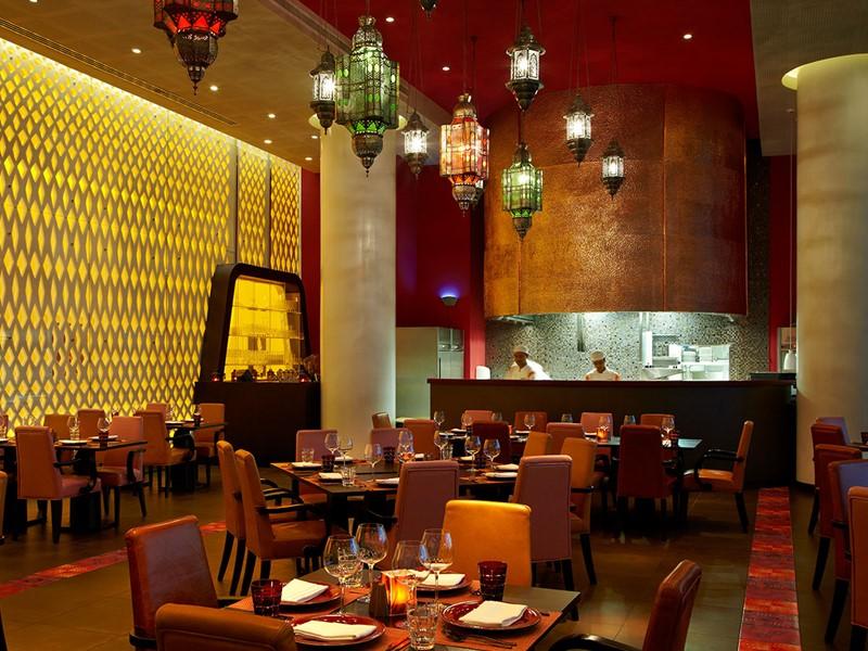 Le restaurant Angar du Yas Viceroy à Abu Dhabi
