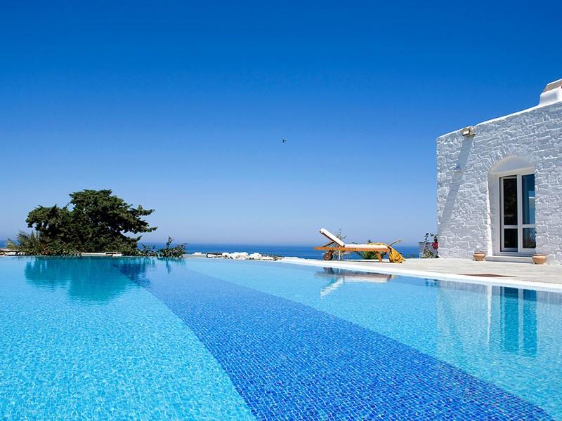 La piscine de la Villa