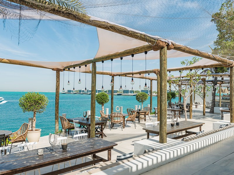 Le restaurant Hooked du Zaya Nurai Island à Abu Dhabi