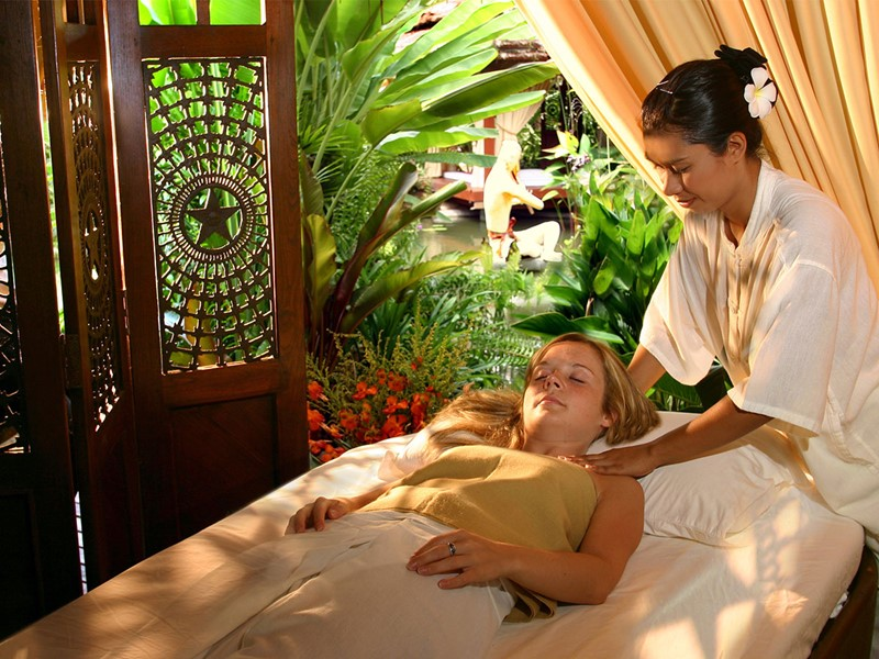 Le spa du Zazen Boutique Resort & Spa à Koh Samui