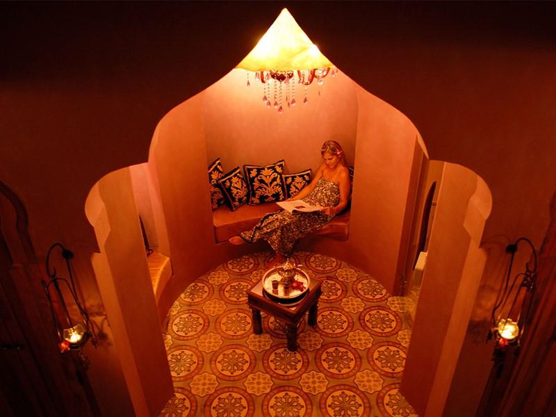 Sauna de l'hôtel Zazen Boutique Resort en Thailande