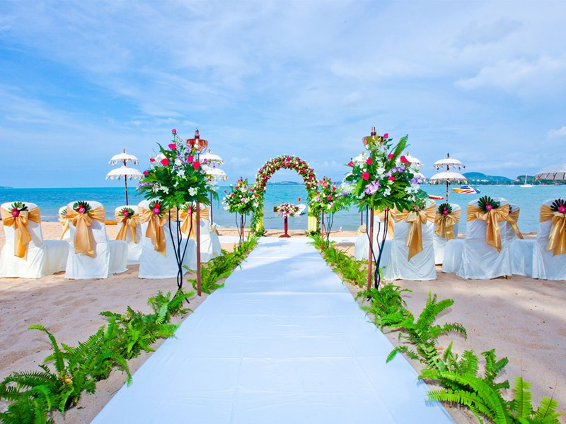 Mariage au Zazen Boutique Resort & Spa en Thailande