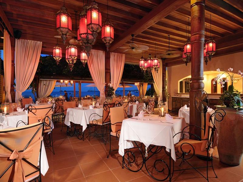 Le restaurant Zazen de l'hôtel Zazen Boutique Resort