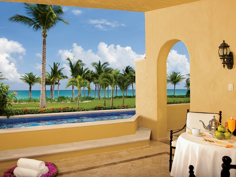 Butler Ocean Front Two Bedroom Master Suite with Plunge Pool du Zoetry