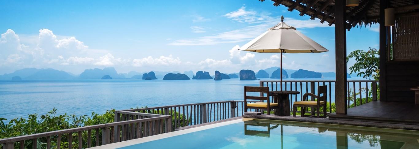 Les 10 plus belles chambres d'hôtels et villas avec piscine privée de Thaïlande