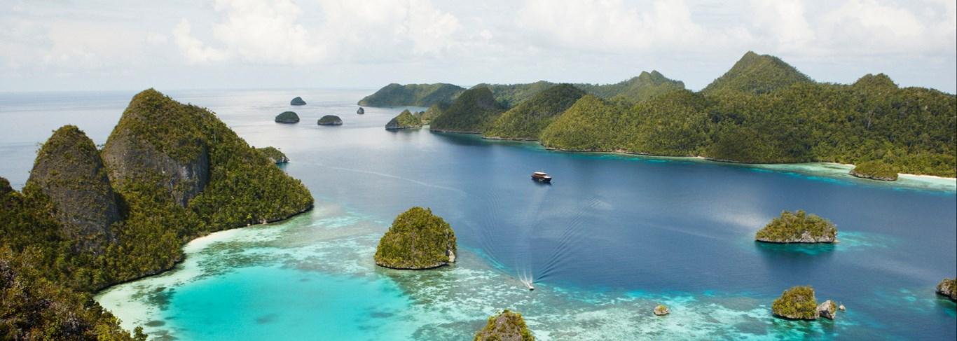 Croisière Aman en Indonésie