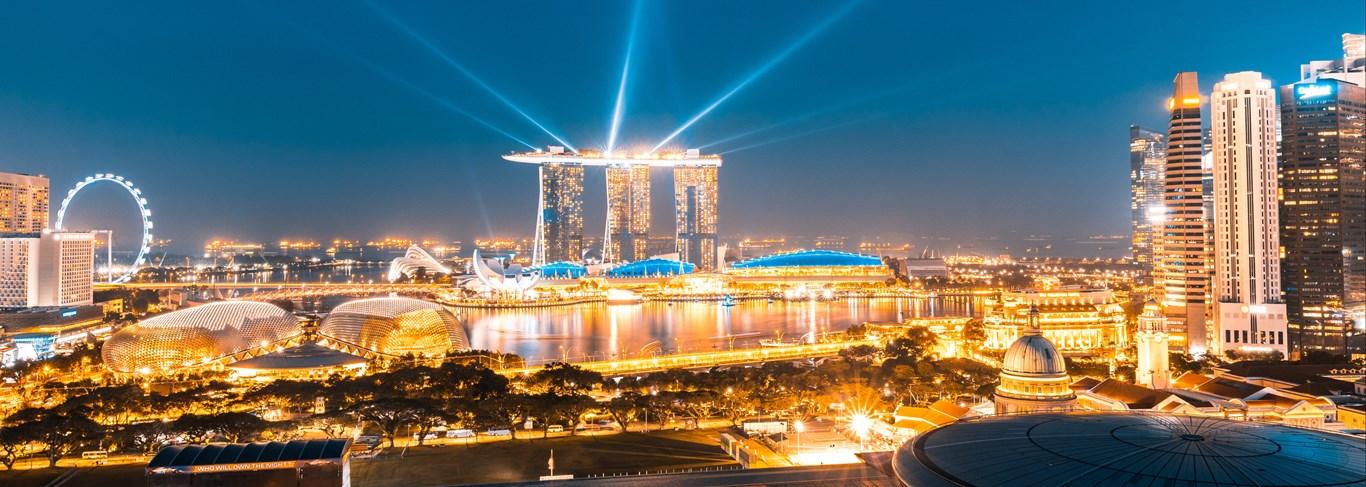 De Singapour à Bintan, ville futuriste & île paradisiaque