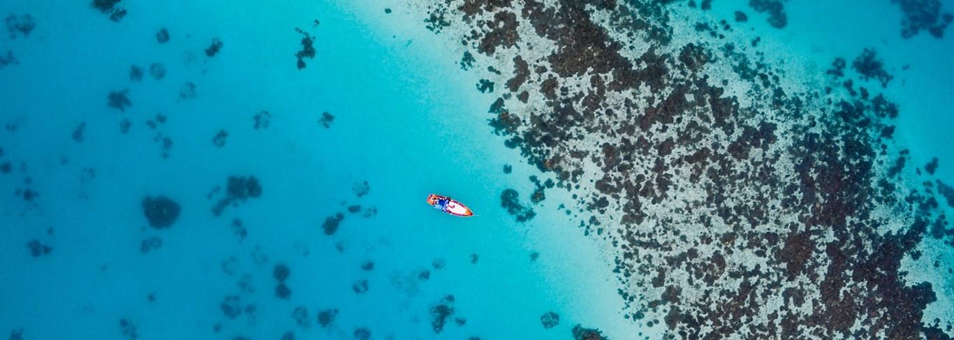 Duo de luxe entre fjords d'Arabie et lagons turquoise