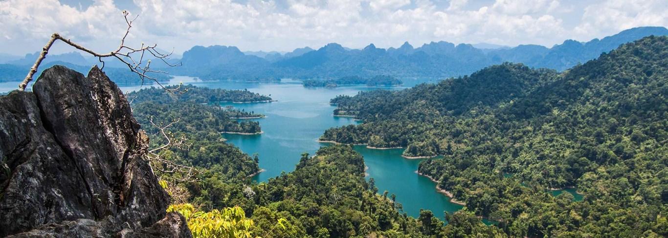 Escapade dans la nature sauvage de Khao Sok