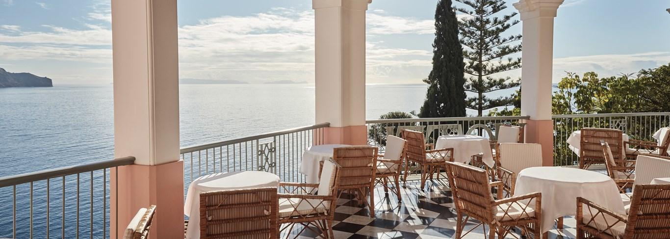 La maison Cipriani et son balcon panoramique est un cadre de premier choix