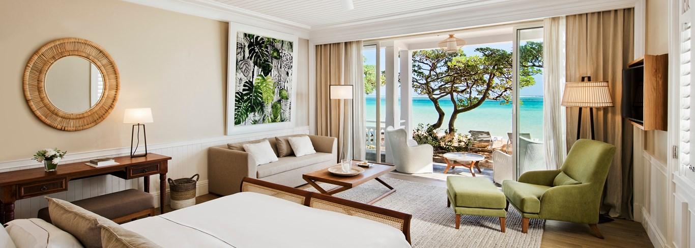 Beachfront Suite de l'Heritage Le Telfair