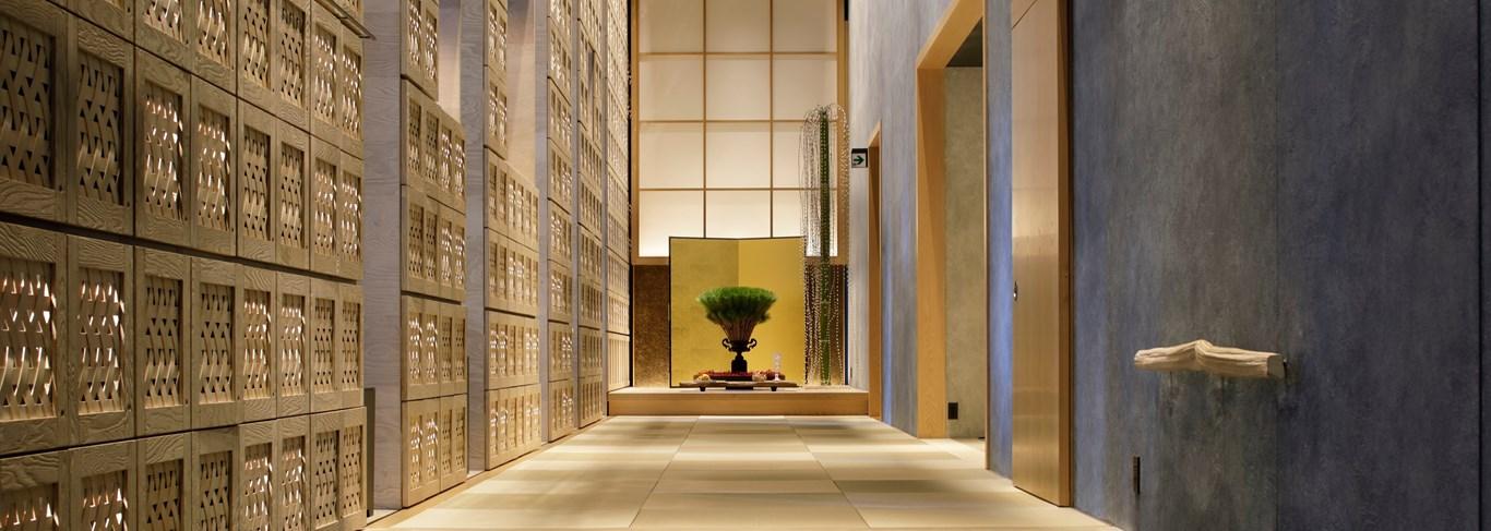 Une décoration dans la simple tradition japonaise