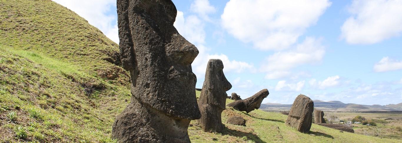 Marchez sur les pas des premiers explorateurs de l'île