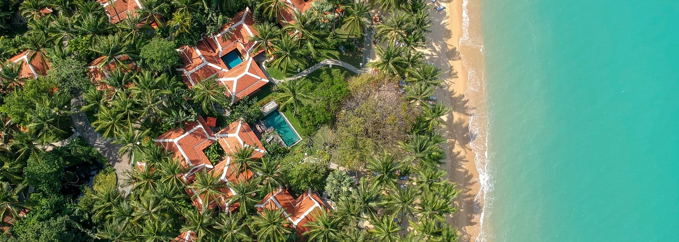 Un hôtel de rêve sur l'île de Koh Samui