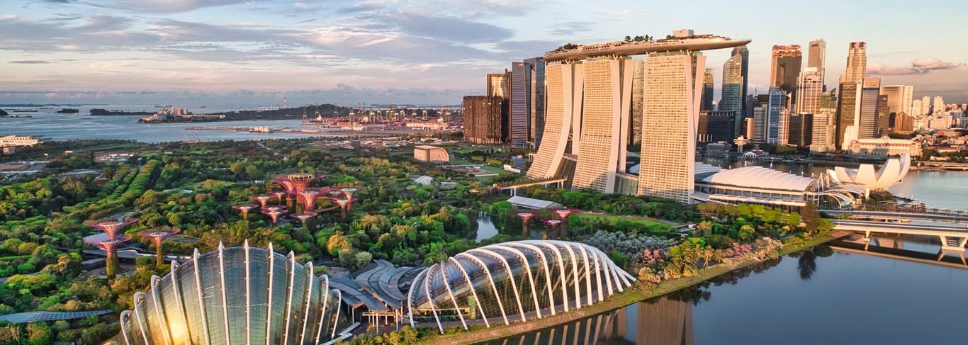 Singapour (360), de ville en plages