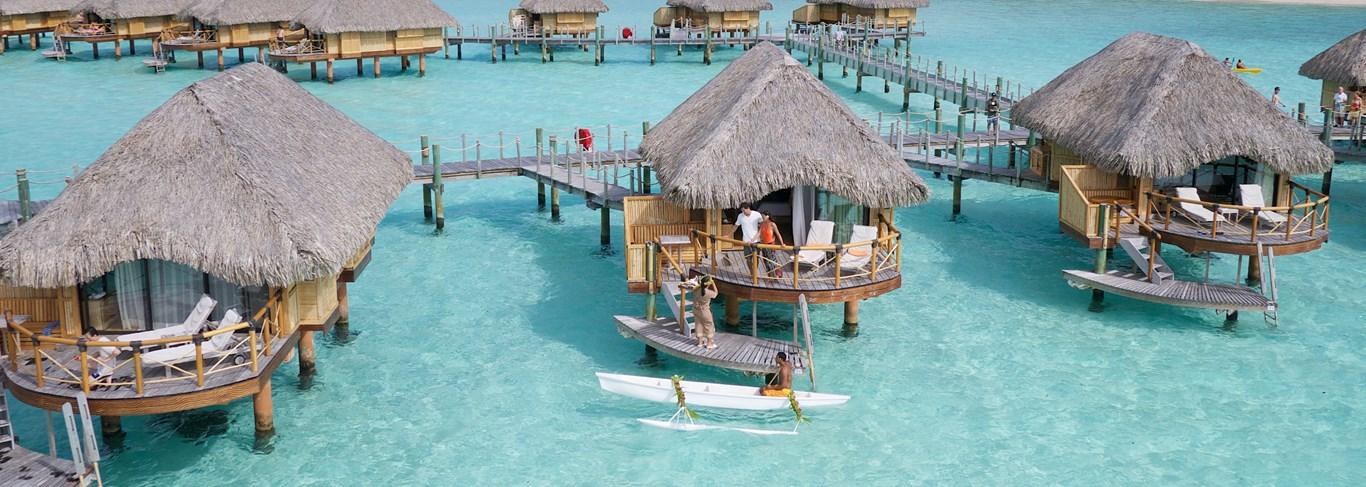 Voyages de noce en Polynésie, un rêve sur pilotis