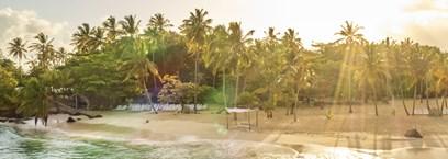 La République Dominicaine, casas & sable blanc